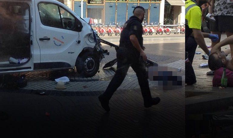 Φορτηγό έπεσε σε πεζούς στην Ράμπλας στη Βαρκελώνη: 13 νεκροί, 25 τραυματίες