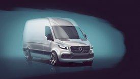 Έτσι θα μοιάζει το νέο Mercedes-Benz Sprinter