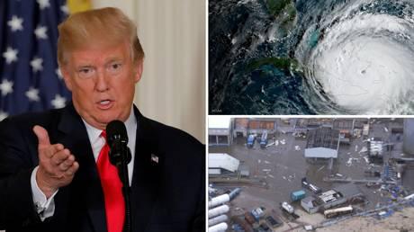 Ίρμα: Δραματική έκκληση Τραμπ καθώς ο «μυθικών διαστάσεων» τυφώνας απειλεί τη Φλόριντα