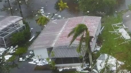 Ίρμα: Drone καταγράφει της ζημιές στη Νάπολη της Φλόριντα (vid)