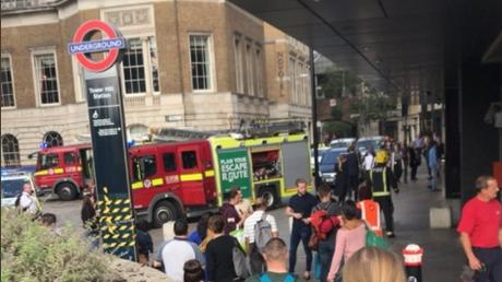 Ανησυχία στο Λονδίνο μετά από νέα έκρηξη σε σταθμό τρένου