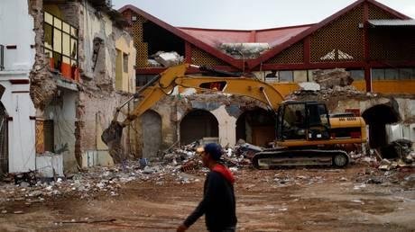 Αυξάνεται ο απολογισμός των νεκρών από τον σεισμό στο Μεξικό (pics)