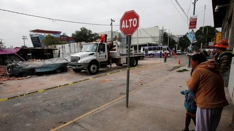 Αυξήθηκε ο αριθμός των νεκρών από τον φονικό σεισμό που χτύπησε το Μεξικό (pics)