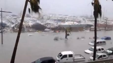 Βιβλική καταστροφή από το πέρασμα της Ίρμα στην Καραϊβική, που απειλείται από άλλους δύο κυκλώνες
