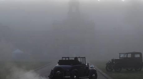 Βρετανία: «Εξαφανίστηκε» ο δρόμος λόγω ομίχλης – Καραμπόλα 8 οχημάτων (vid)