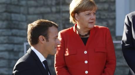 Η Μέρκελ βάζει «φρένο» στο ευρωπαϊκό «όραμα» του Μακρόν
