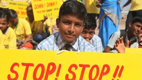 Ινδία: Πορεία διαμαρτυρίας 11.000 χιλιομέτρων για να σωθούν τα παιδιά από τη σεξουαλική κακοποίηση