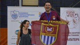 Κώστας Νικολόπουλος: Ο πρωταθλητής κολύμβησης με κινητικά προβλήματα που νίκησε τον θάνατο