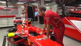 Μπήκαμε στα άδυτα της ομάδας της Ferrari! (vid)