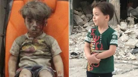 Ομράν: Το παιδί – σύμβολο του πολέμου της Συρίας ένα χρόνο μετά