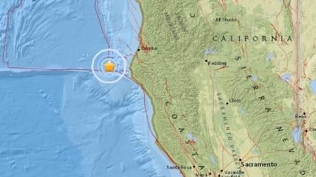 Σεισμική δόνηση στην Βόρεια Καλιφόρνια