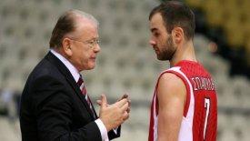 Σπανούλης: «Θρυλικός προπονητής ο Ίβκοβιτς, τυχερός που τον είχα»