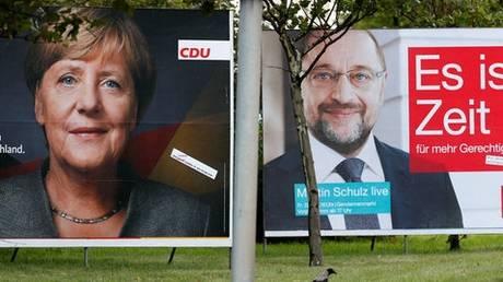 Σταθερό προβάδισμα της Άνγκελα Μέρκελ λίγο πριν τις γερμανικές εκλογές
