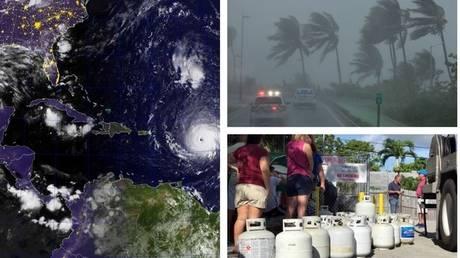 Τρεις τυφώνες πάνω από τον Ατλαντικό – Απαγόρευση κυκλοφορίας στα νησιά της Καραϊβικής