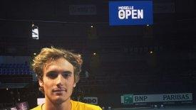 Nίκη για τον Τσιτσιπά στο Moselle Open