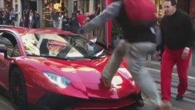 Αν «πηδήξεις» μια Lamborghini, έχεις και συνέπειες! (vid)