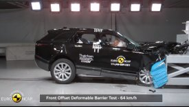 Αριστείο στην ασφάλεια το Range Rover Velar (vid)