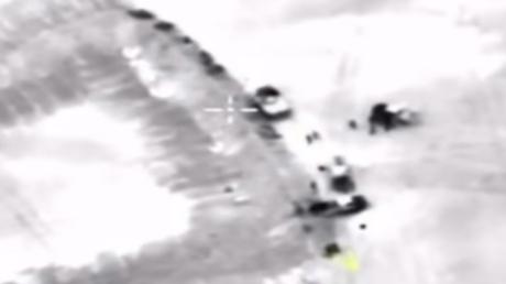Βίντεο από την αεροπορική επιδρομή της Ρωσίας κατά στόχων της αλ Νούσρα