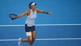Η Γκαρσία στο WTA Finals της Σιγκαπούρης