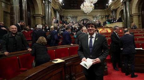 Η Μαδρίτη θα χαιρέτιζε υποψηφιότητα του Πουτζντεμόν στις εκλογές (vid)