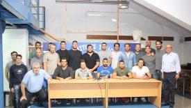 Η παρουσίαση της ομάδας πόλο ανδρών του Απόλλωνα Σμύρνης