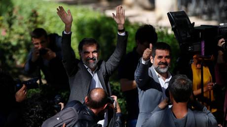 Ισπανία:Ελεύθεροι ο διοικητής αστυνομίας της Καταλονίας και οι επικεφαλής δύο αυτονομιστικών ενώσεων