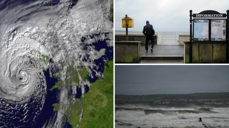 Οφηλία: Άρχισε το «σφυροκόπημα» των ακτών της Ιρλανδίας