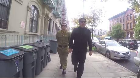 Ο… Κιμ Γιονγκ Ουν στη Νέα Υόρκη (vid)