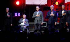 Πέντε πρώην πρόεδροι σε φιλανθρωπική συναυλία για τους πληγέντες των κυκλώνων