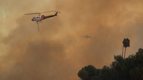 Πυρκαγιά Καλιφόρνια: Ιστορίες διάσωσης μέσα από τα… «μάτια» ενός πιλότου