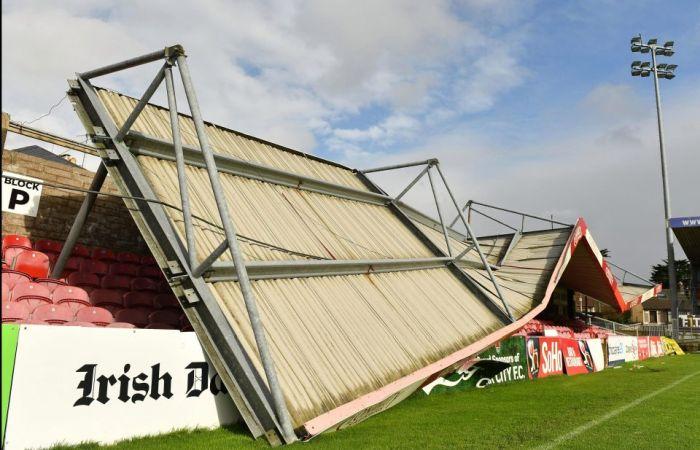 Σοβαρές ζημιές στο γήπεδο της Κορκ Σίτι