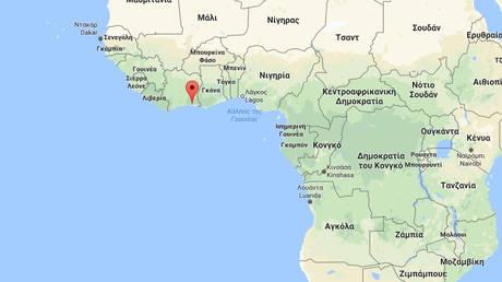 Συντριβή αεροσκάφους στη θάλασσα ανοικτά της Ακτής Ελεφαντοστού