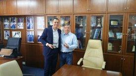 Τα είπαν Παναγόπουλος- Μπορζακόφσκι στα γραφεία του ΣΕΓΑΣ