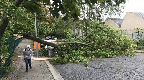 Τουλάχιστον 7 νεκροί από σφοδρή καταιγίδα στη Γερμανία