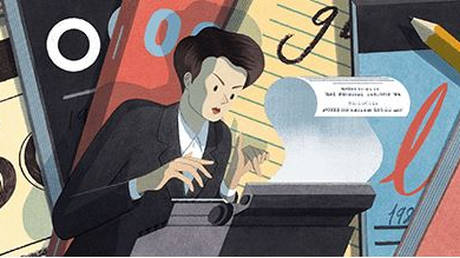 Google Doodle: Τιμή στην πρωτοπόρο αγγλίδα δημοσιογράφο Κλαρ Χόλλινγκουορθ