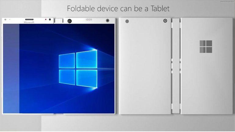 Αναδιπλούμενο tablet από τη Microsoft για το 2018;