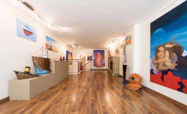 Εγκαίνια ομαδικής έκθεσης Follow us on Art, απόψε 18/10 στην αίθουσα τέχνης Time of Art Gallery