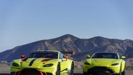 Έτοιμη και η νέα αγωνιστική Aston Martin Vantage