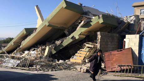 Ιράν: Περισσότεροι από 400 νεκροί στον φονικότερο σεισμό του 2017
