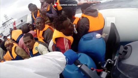 Ιταλία: Διασώθηκαν 1.100 μετανάστες από τις ακτές της Λιβύης