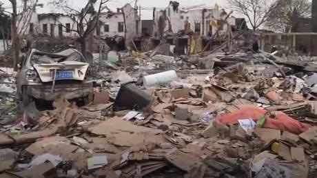 Κίνα: Μεγάλη έκρηξη στην πόλη Νίνγκμπο – Τουλάχιστον δύο νεκροί (pics & vid)