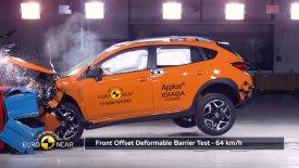 Κορυφαία σε ασφάλεια τα Subaru XV και Impreza (vid)