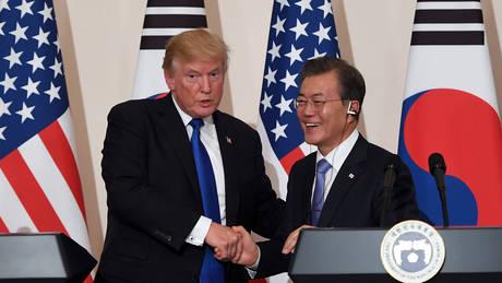 Νότια Κορέα: Ο Τραμπ δεν πρέπει να επιτεθεί στον Κιμ χωρίς την έγκρισή μας