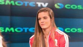 """Σάκκαρη και Τσιτσιπάς στο """"TOPSPIN"""" της COSMOTE TV"""