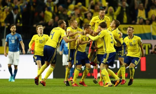 Σουηδία – Ιταλία 1-0 (vid)
