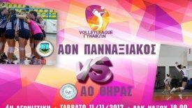 Στο φιλέ για την 4η αγωνιστική η Volley League γυναικών