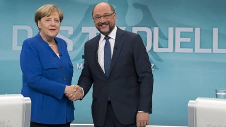 Συνάντηση Μέρκελ – Σουλτς για την άρση του πολιτικού αδιεξόδου