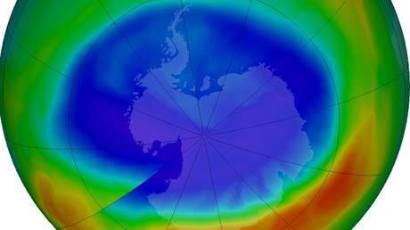 Συρρικνώθηκε η τρύπα του όζοντος πάνω από την Ανταρκτική