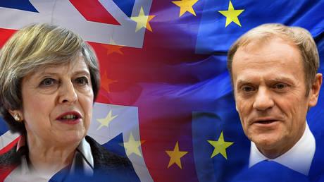 Τελεσίγραφο Τουσκ σε Μέι για Brexit: Σε 10 ημέρες πρέπει να καταγραφεί πρόοδος στις συνομιλίες