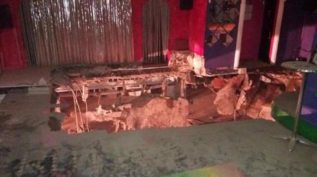 Τενερίφη: Κατέρρευσε πάτωμα ντισκοτέκ – Δεκάδες τραυματίες (pics&vid)